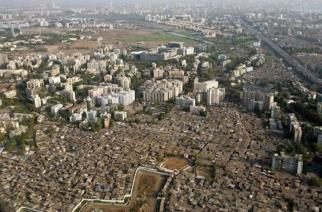Lack of open spaces in Mumbai